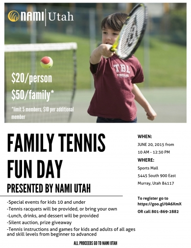 2015 Family Tennis Fun Day